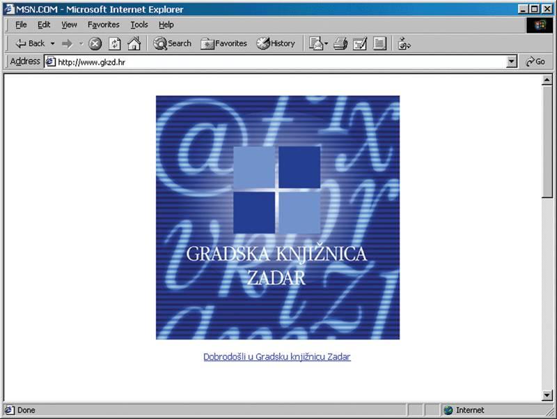 www.gkzd.hr 2001. godine