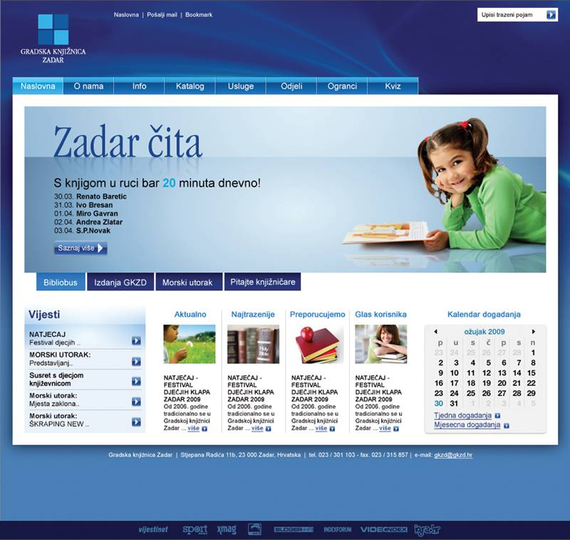 www.gkzd.hr 2009. godine