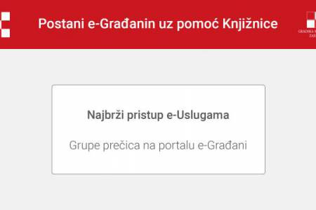 Najbrži pristup e-Uslugama na portalu e-Građani