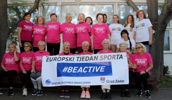 Europski tjedan sporta: Jutarnja tjelovježba u Knjižnici