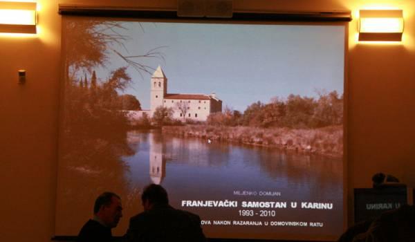Franjevački samostan u Karinu, 1993. – 2010.