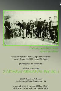 Zadarski Arbanasi i bicikle