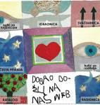 web Dječjeg odjela 2004. godine (u suradnji sa slikaricom Nives Brajković)